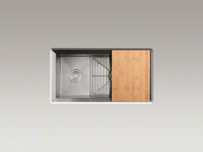 Kohler Poise sink kitchen remodel Pinterest