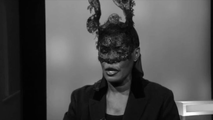 Grace Jones Interview with Christiane Amanpour [2017]