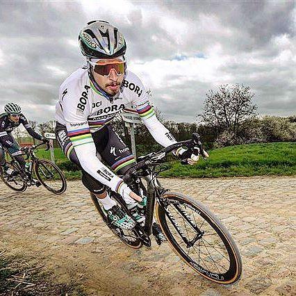 Peter Sagan recon Paris Roubaix 2017
