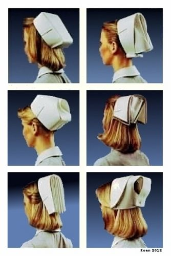 More nursing caps...Clumsy maybe, but still loved them!