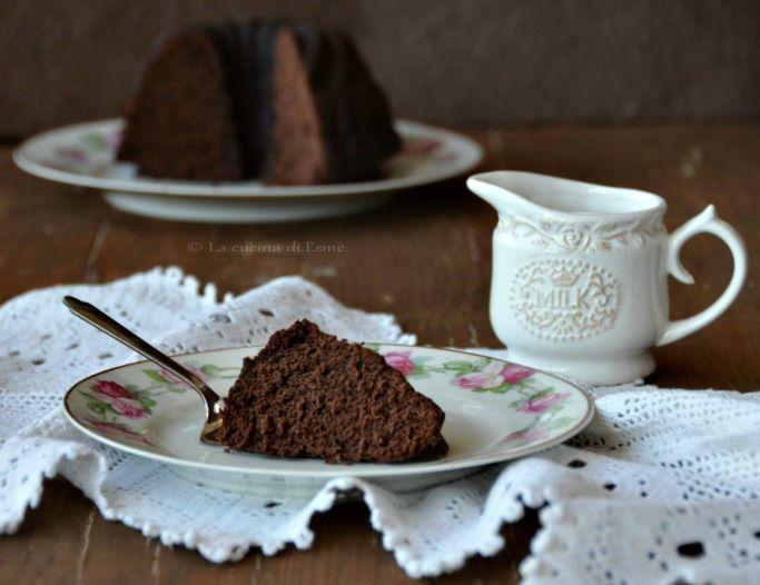 La cucina di Esme: Dark chocolate cake