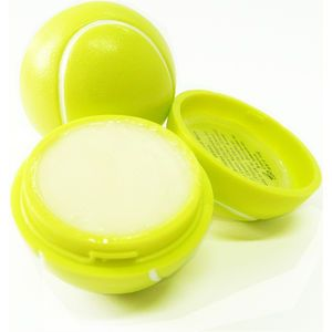 A vanilla flavoured lip balm in a Tennis Ball shaped container. Whatever the weather lips need caring for as the sun, wind and rain all caus...