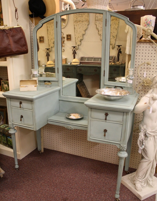 Antique Aqua Blue Vanity - 365 Best Painted Furniture Images On Pinterest Paint Furniture