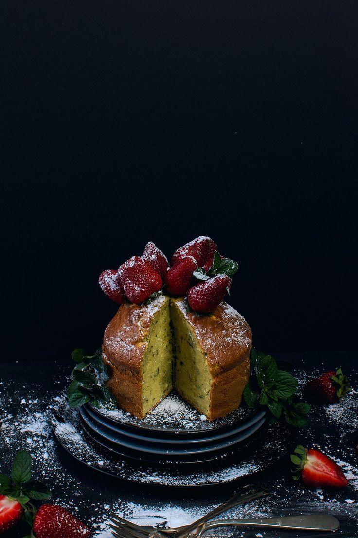 Peppermint Olive Oil Cake | Eating Reverently
