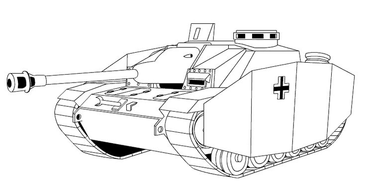 coloring pages tank - photo#24