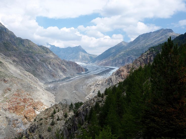 https://flic.kr/p/ABt5Yh | Extreme Environments - the snout end of the Aletsch Glacier, Valais, Switzerland