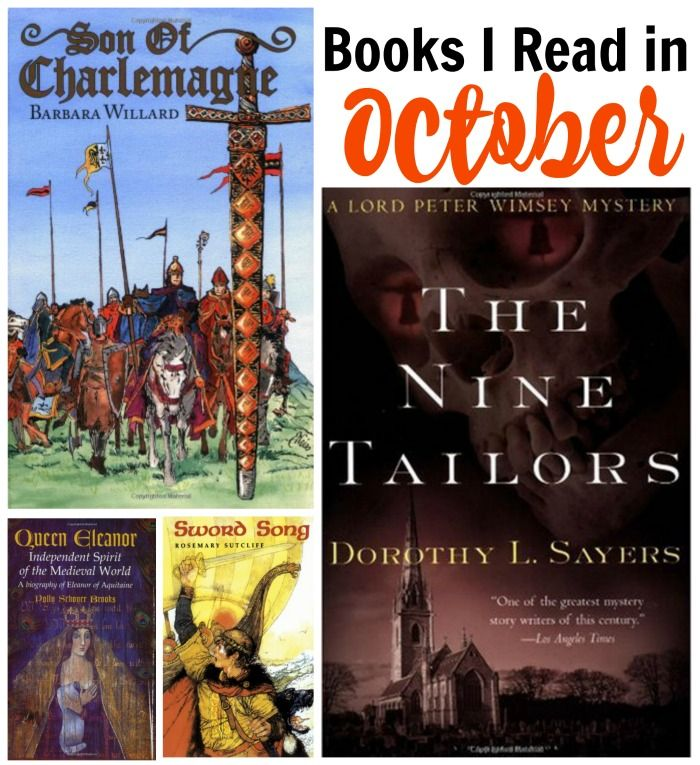 Read any good books in October? I've got four fun historical fiction books to share this month, all of which will expand your horizons. And your kids'.