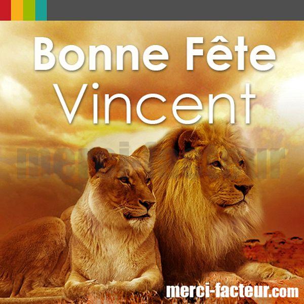 Bonne Fête Vincent ! http://www.merci-facteur.com/ #carte #bonnefête #Vincent #Fête #Saint