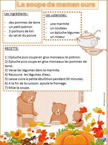 La soupe de maman ours