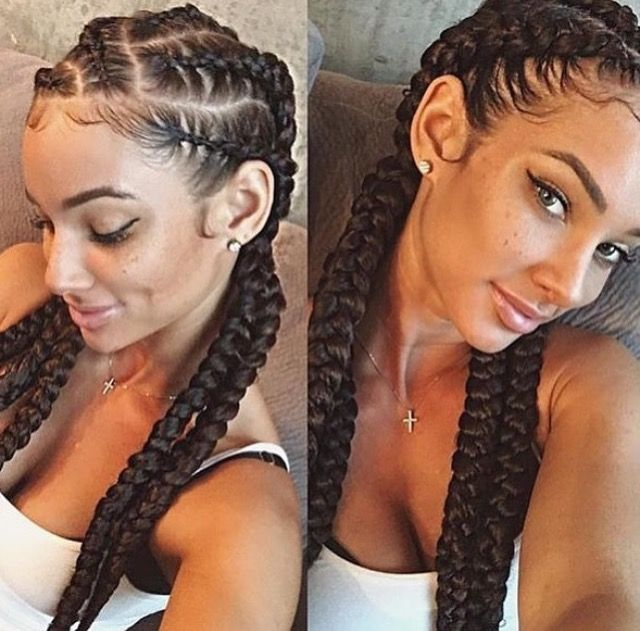 braids natural curly hair shrinkage