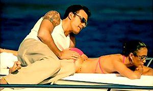 "Ben Affleck appeared in Jennifer Lopez's 2002 music video, ""Jenny From The Block."" #Bennifer"