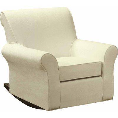 Dorel Rocker Slipcover Beige Nursery Furniture Living Room Furniture 3