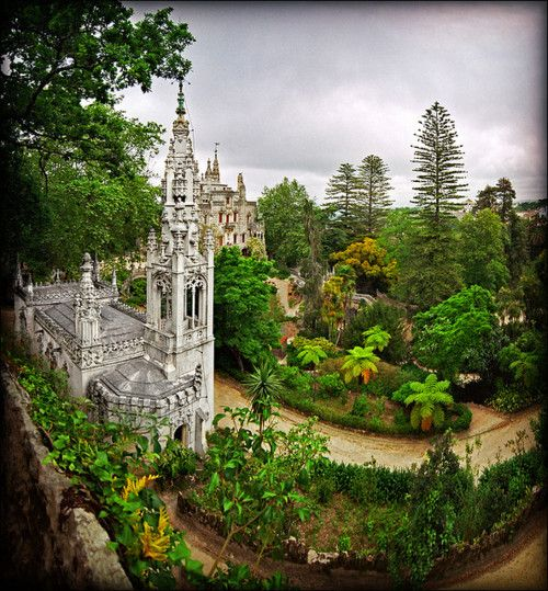 "Quinta da Regaleira, Sintra, Portugal  |  by Katarina 2353    Quinta da Regaleira is an estate located near the historic center of Sintra, Portugal. It is classified as a World Heritage Site by UNESCO within the ""Cultural Landscape of Sintra"". [ref. Wiki]"