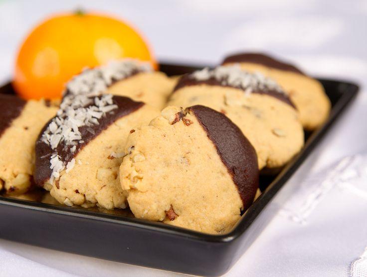 Ciasteczka orzechowo-czekoladowe
