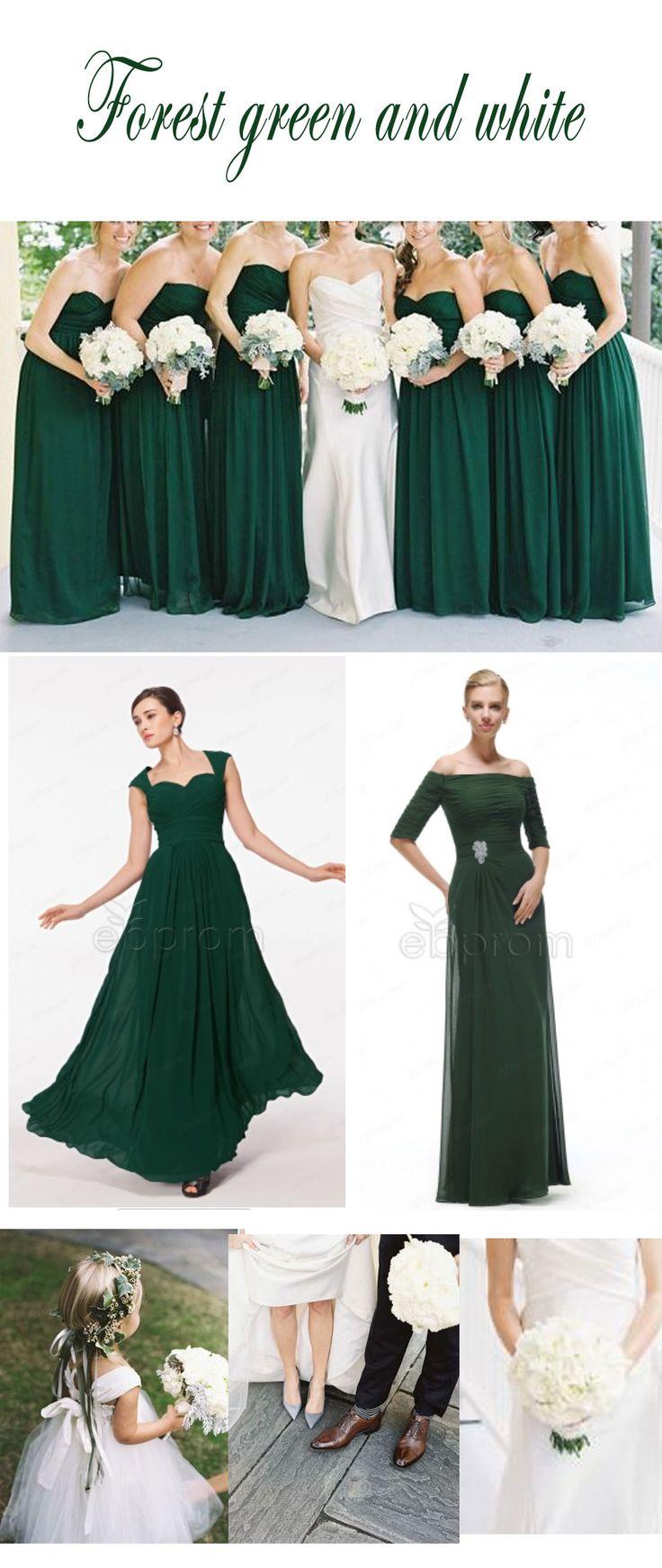 Best 25 forest green weddings ideas on pinterest forest for Forest green wedding dress