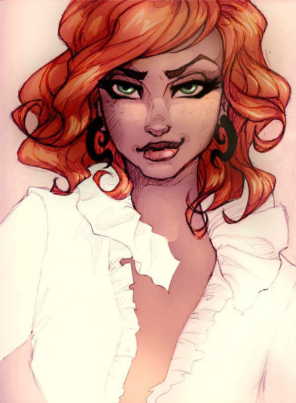 Lady Cinnabar by RopeyLopey on DeviantArt