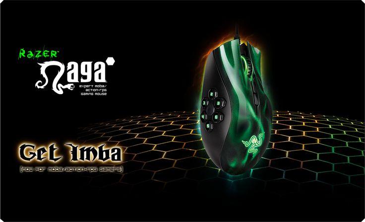 Razer Naga Hex Gaming Mouse - Best MOBA / ARPG Gaming Mouse - Razer United States
