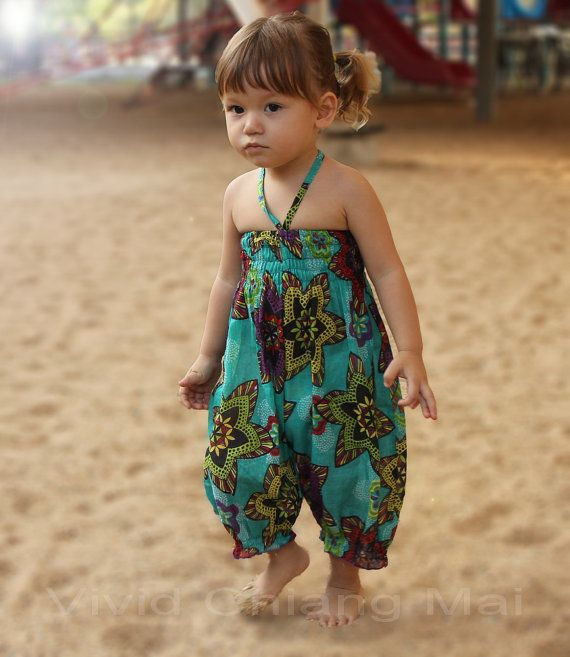 For Ella~ Toddler girls romper jumpsuit outfits overalls size by VividDress, $17.00