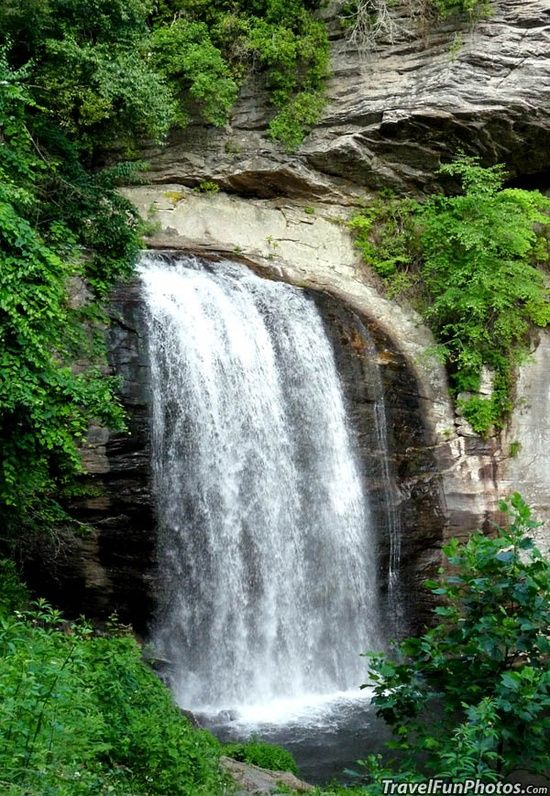 Looking Glass Falls ~ Ashville, North Carolina  #vacation