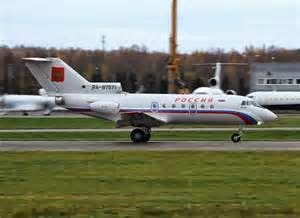 Blog on World of Civil Airplanes : Yakovlev Yak-40 Regional   Jet Airliner
