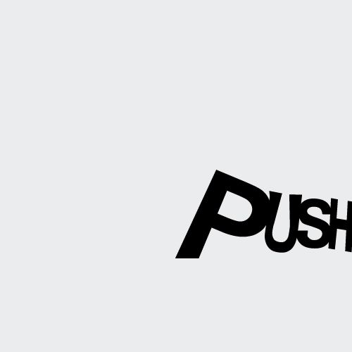 "#creativetypography designed by Akash Harlalka; the effects used for the word reveals the meaning of the word ""push."" Having the ""p"" larger with the other letters decreasing in size also creates a spatial depth, as if the word is being pushed backwards and at the same time to the right. Having the letter ""h"" right on the edge of the space intensifies the effect of being ""pushed."""