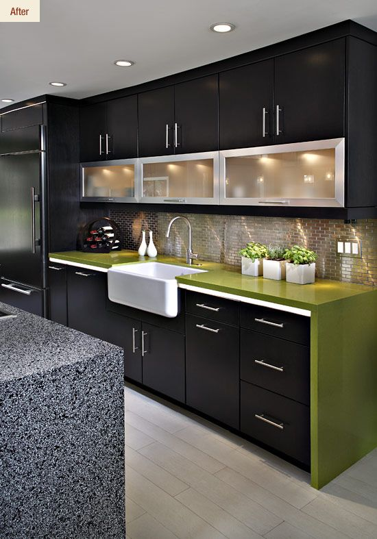 Best Sharp Clean Modern And I Love The Colors Kitchen 640 x 480