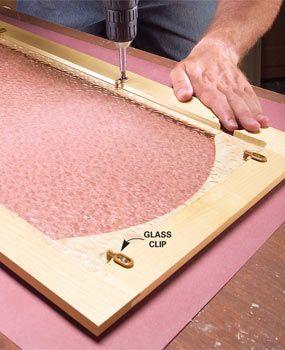 Convert Wood Cabinet Doors To Glass. Glass Kitchen Cabinet DoorsDiy ...