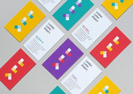 London Luton Airport Branding by Ico Design | Inspiration Grid | Design Inspiration