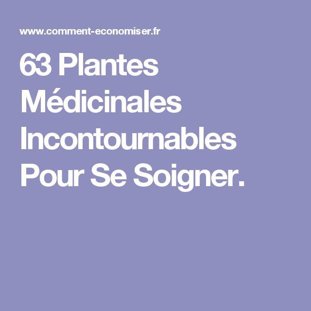 63 Plantes Médicinales Incontournables Pour Se Soigner.