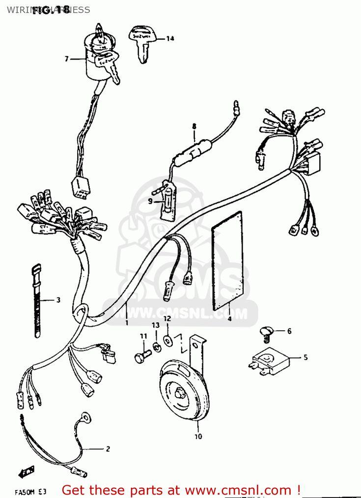 Suzuki Wiring Diagram Motorcycle