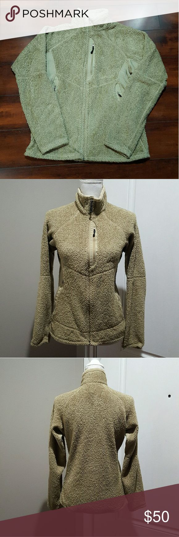 Men's Patagonia fleece jacket, size small Men's Patagonia fleece jacket, size small. No stains or tares. Tan colored. Patagonia Jackets & Coats
