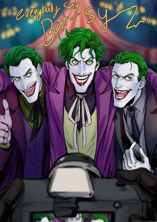 three jokers | Tumblr  Tumblr500 × 706Search by image  8/10 [ THREE OF THE JOKER ] Batjokes week in Japan!