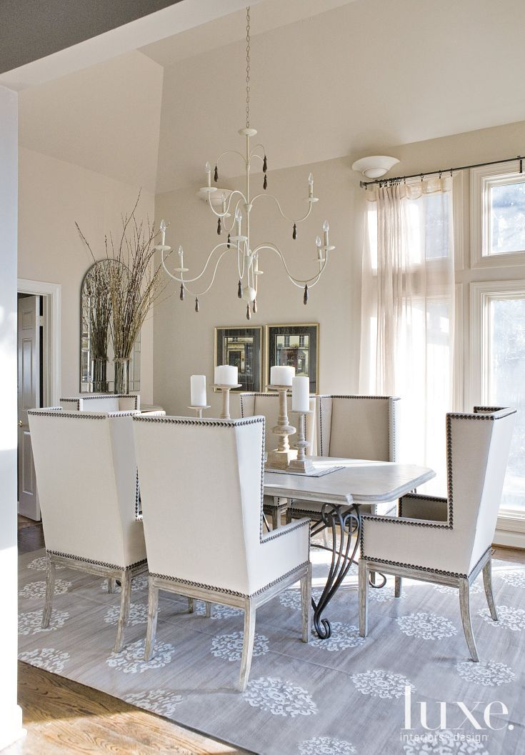 Modern White Dining Rooms best 25+ contemporary dining chairs ideas on pinterest | dining
