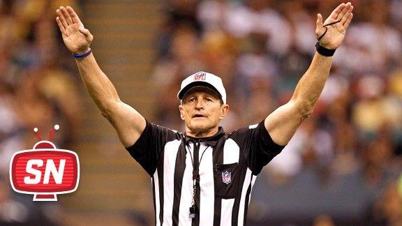 He's got the big guns!  (NFL referee Ed Hochuli)
