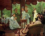 """New artwork for sale! - """" In The Conservatory by James Jacques Joseph Tissot """" - http://ift.tt/2qpaU40"""