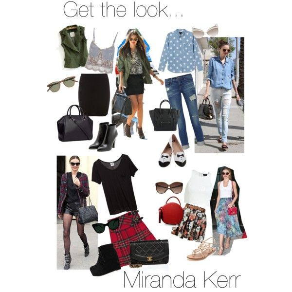 Miranda ♡ #getthelook #mirandakerr #style