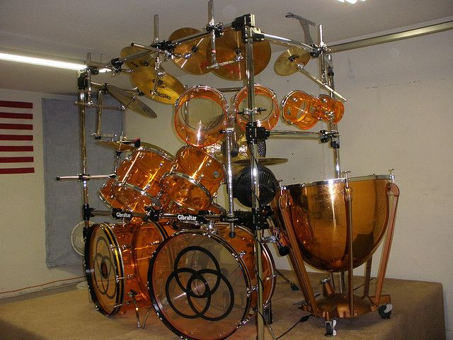 John Bonham tribute drums
