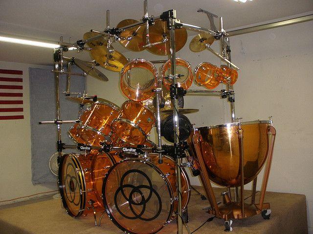 Ooooh. Very pretty. http://custard-pie.com/ John Bonham drums