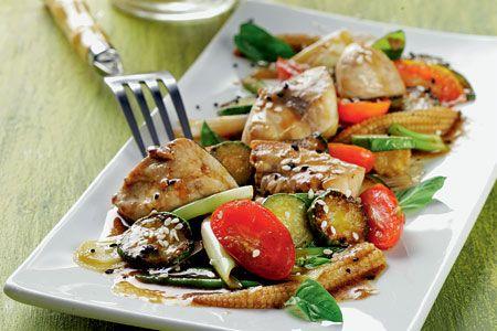 Καλοκαιρινό stir - fry με λαχανικά και ψάρι - Συνταγές | γαστρονόμος