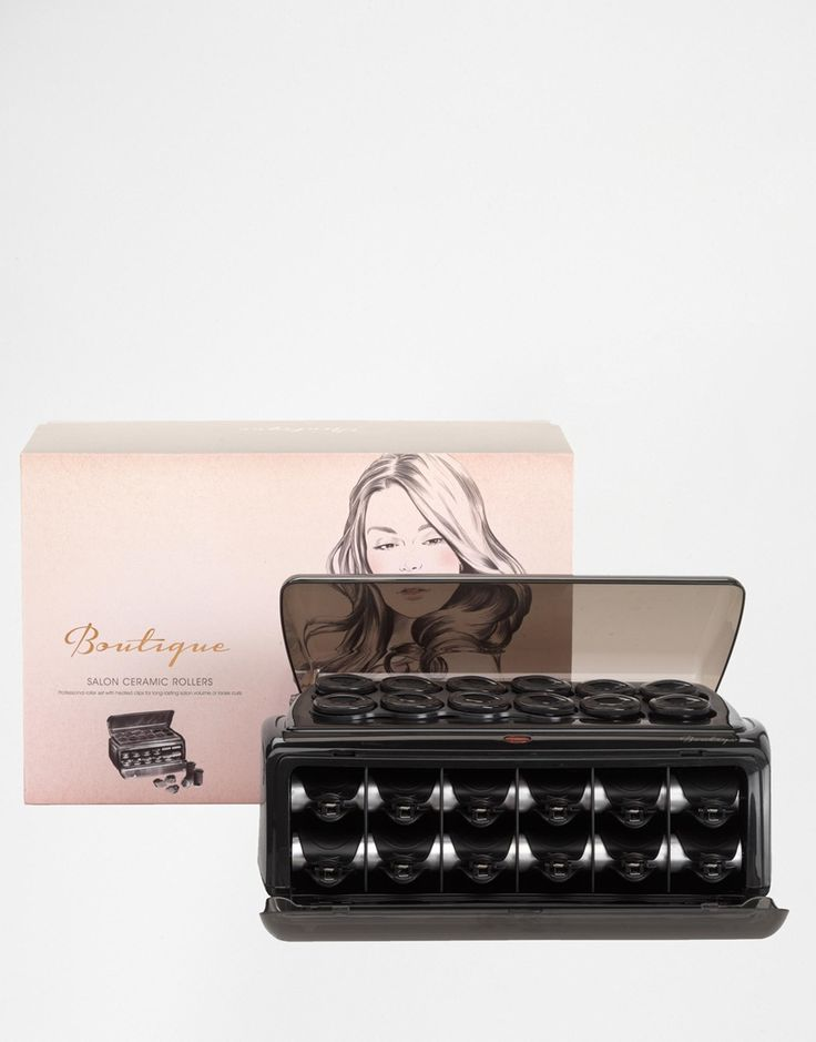 Image 1 ofBaByliss Boutique Salon Ceramic Heated Rollers