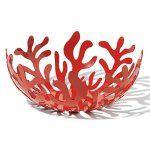 Alessi - ESI01/21 R - Mediterraneo fruttiera in acciaio colorato con resina epossidica, rosso.