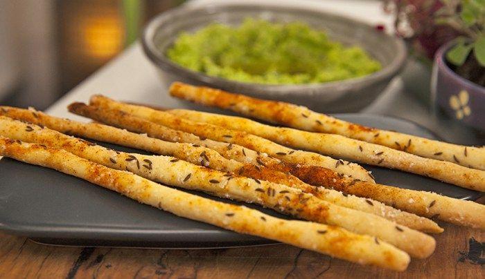 Caraway and Salt Breadsticks - Good Chef Bad Chef