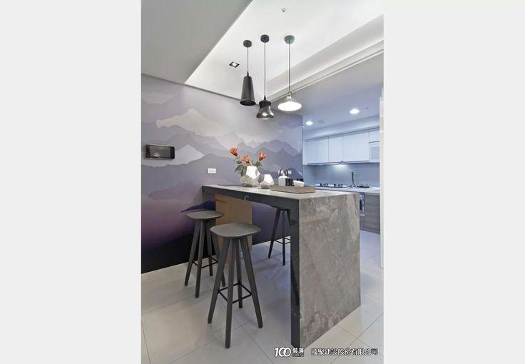 國聚之界_現代風設計個案—100裝潢網