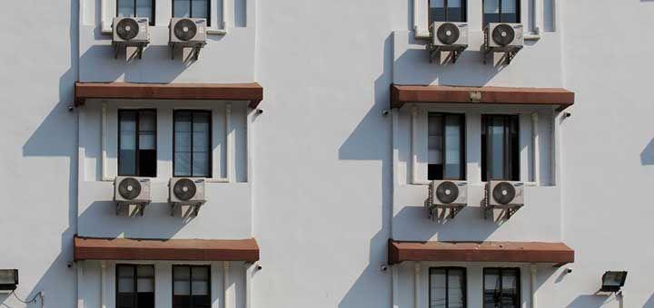 Motorex | Los equipos de aire acondicionado | Equipo de aires acondicionados en un edificio