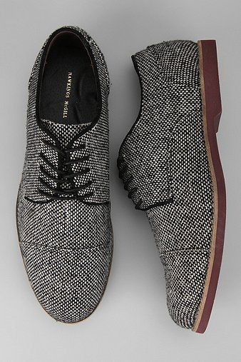 wool oxfords- with dark denim jeans and heavy zip-neck sweater