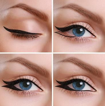 How To Do Double Winged Eyeliner Steps #Fashion #Trusper #Tip