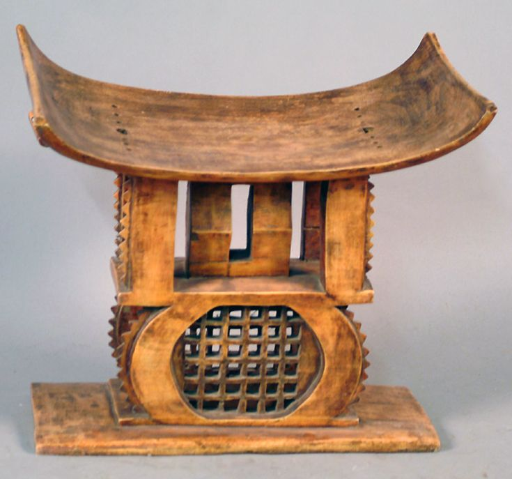 Africa | Stool from the Ashanti people of Ghana | Wood