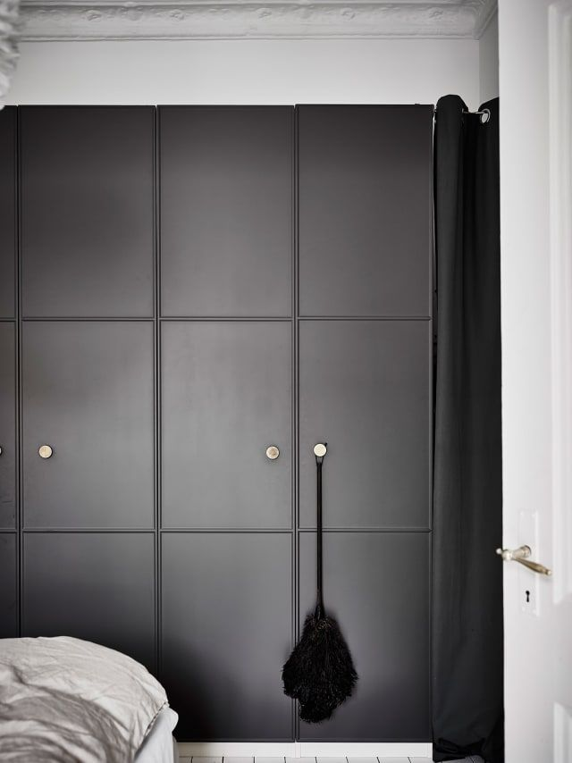 Super Smooth Ikea Pax Hacks That Look Seamless Built In Ikea