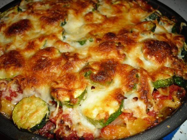 Zucchini Baked Ziti: Food Com, What Baked Recipes, Zucchini Recipes Baked, Zucchini Baked, Main Dishes, Baked Zucchini Recipes, Zucchini And Hamburger Recipes, Pan, Zucchini Main Dish Recipes