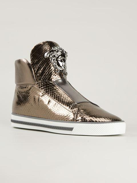 Versace Medusa Hi-top Sneakers